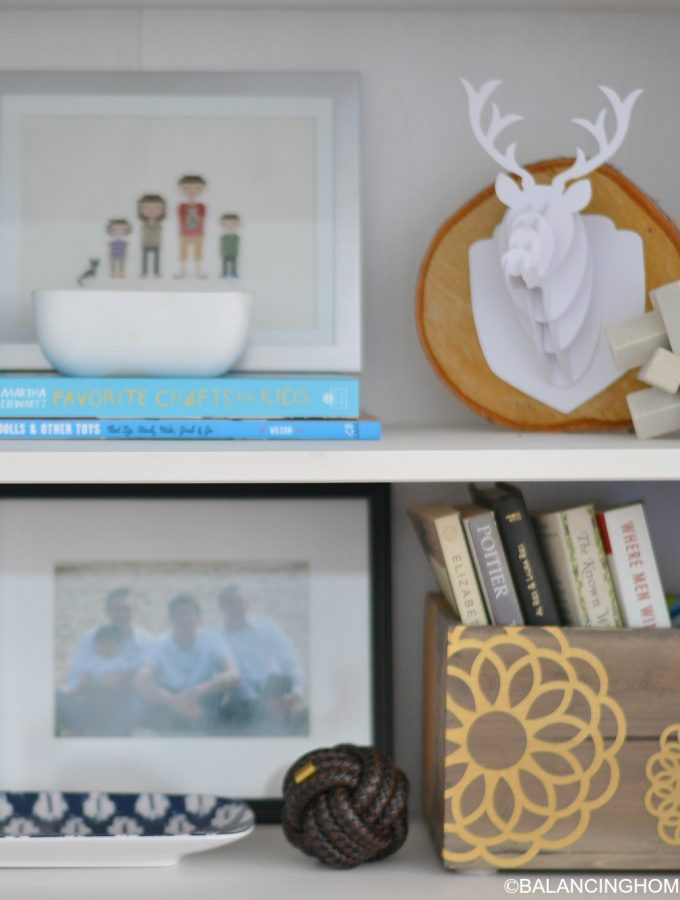 Shelf Styling, Because I Like Pretty Things