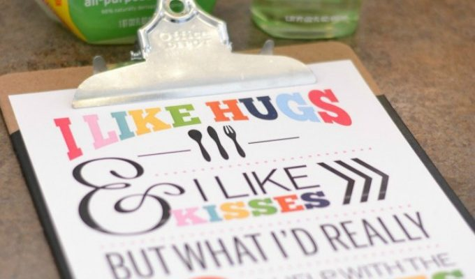 The Kitchen & A Printable