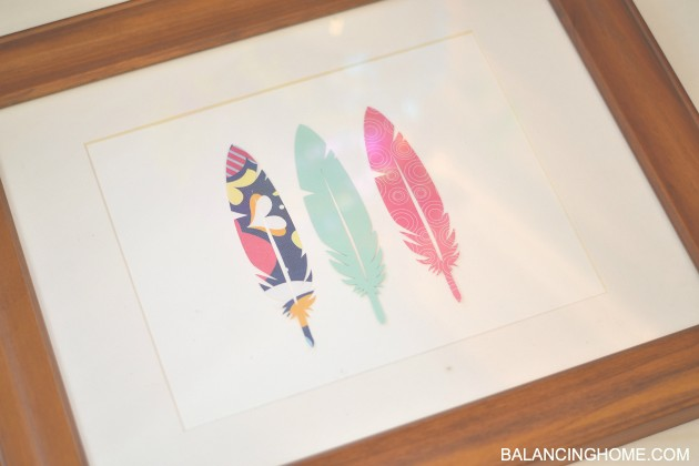 FEATHER-ART-CRICUT