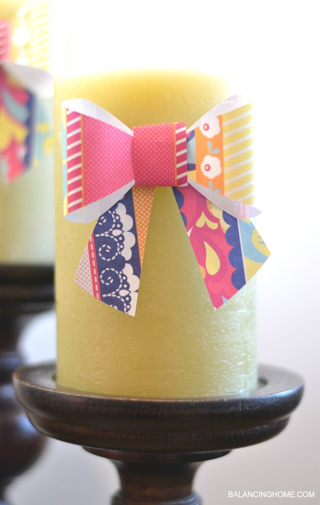 PAPER-BOW-CRICUT-SPRING-DECOR-CANDLE