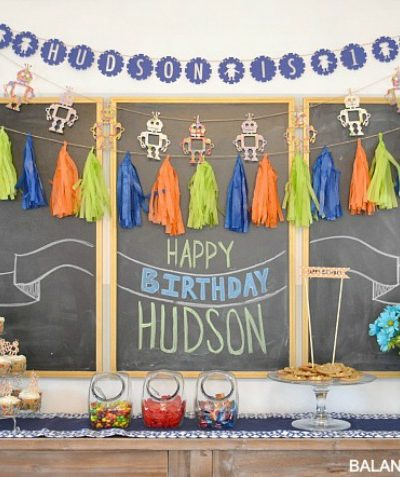 Hudson's First Birthday