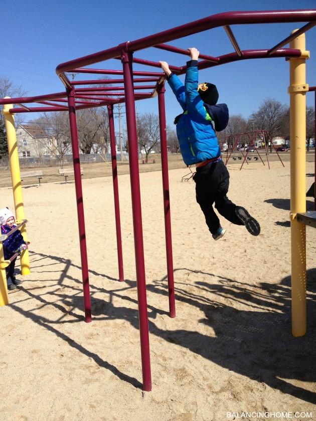 spring-fun-monkey-bars