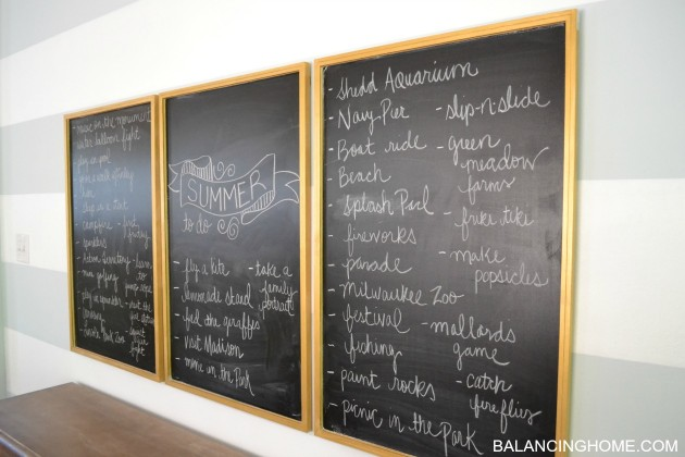 Pinterest Summer Chalkboard Chalkboard-dining-room-summer