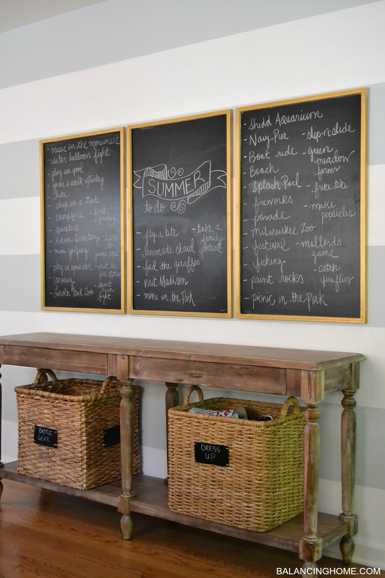 DINING ROOM CHALKBOARD SUMMER