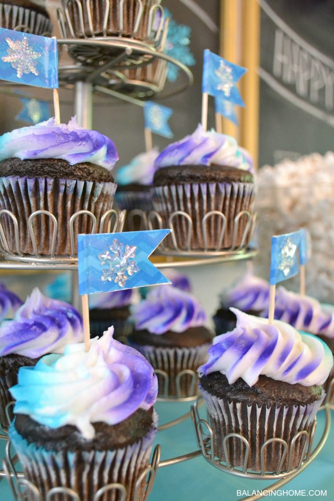 frozen-cupcakes-party