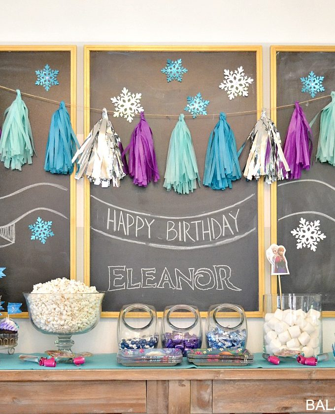 A Frozen Birthday Party