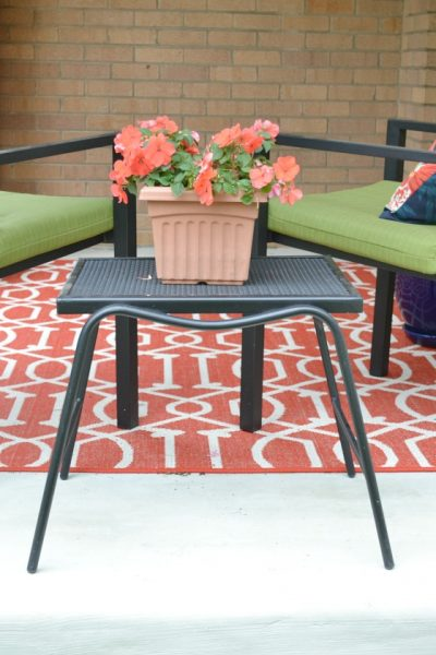 Porch Makeover Details