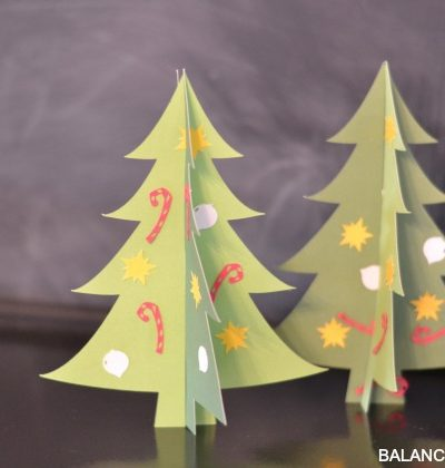Kid Craft: Christmas Tree Bar