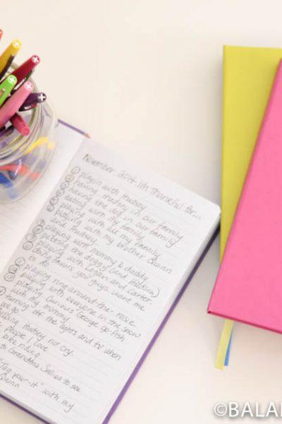 Thanksgiving Journals & Christmas Shelves