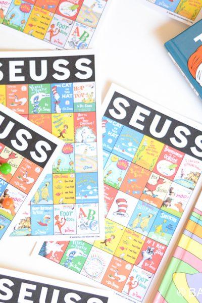 Dr. Seuss Bingo Printable