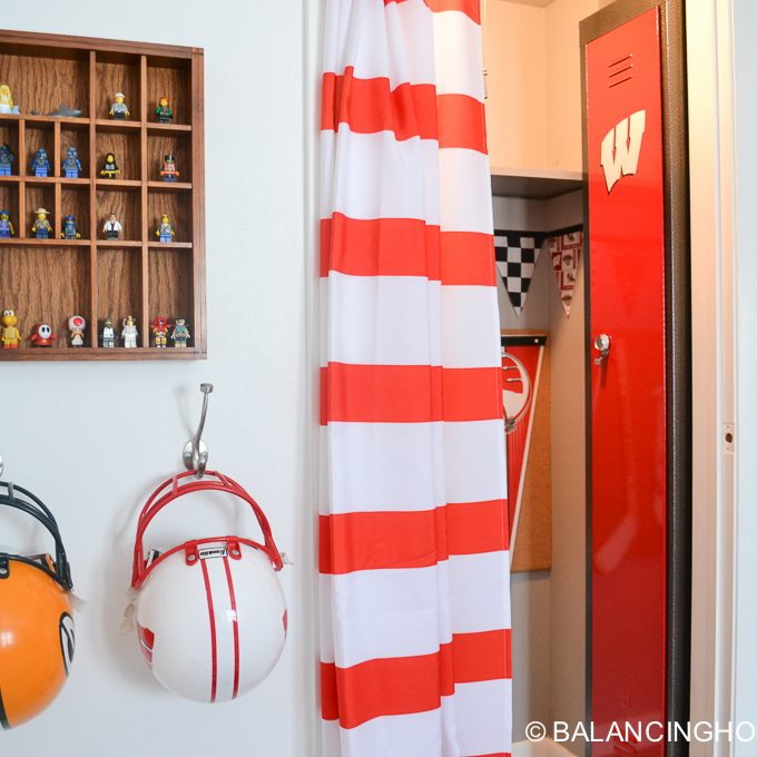Boy Room Updates & Locker