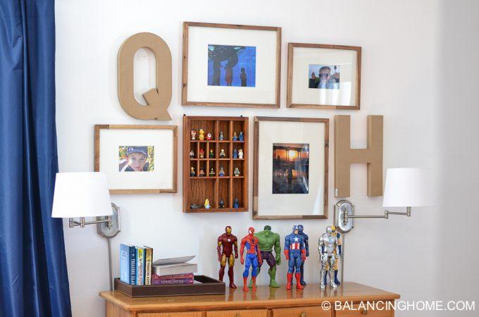 Boy's Room Gallery Wall