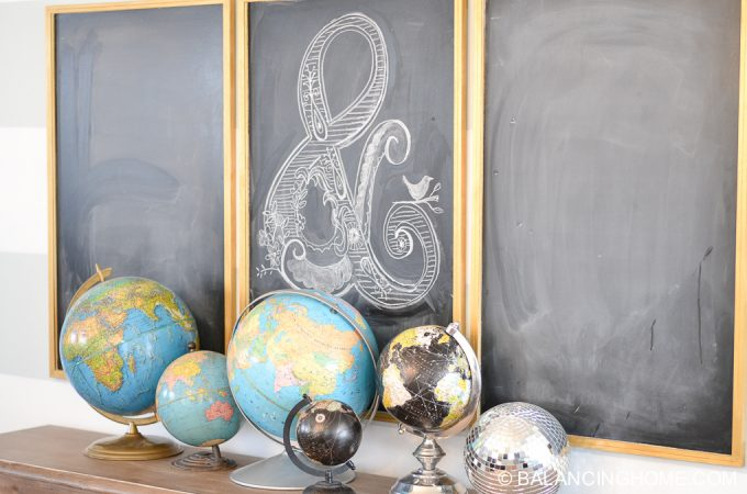 Chalkboards & Globes