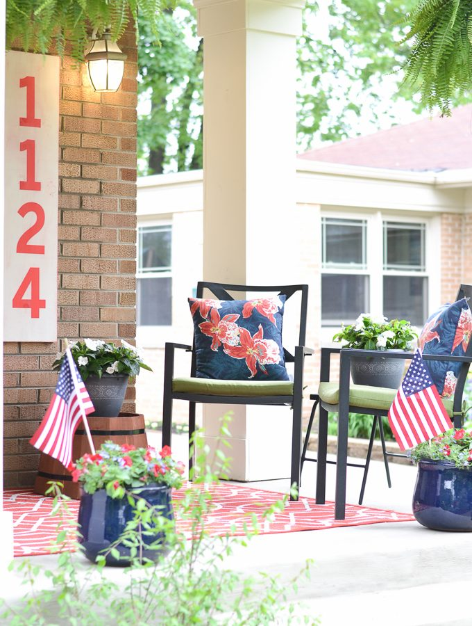 A Patriotic Porch