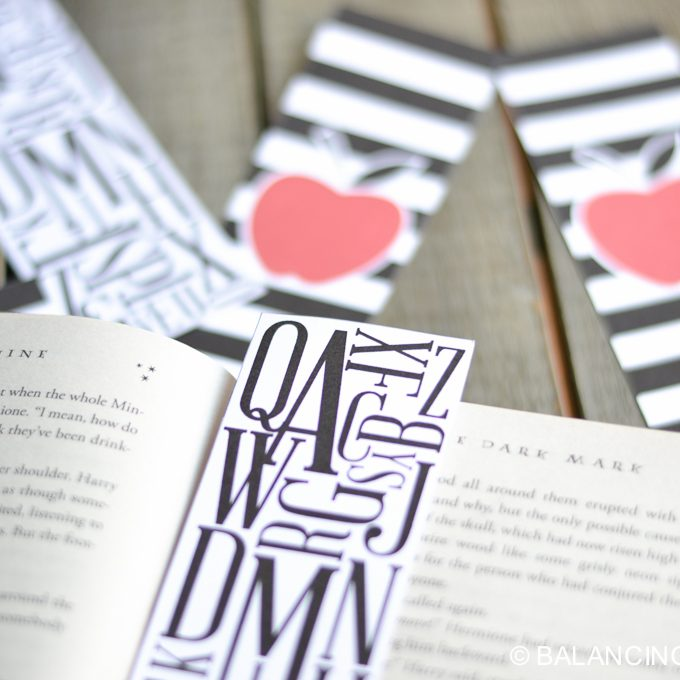 Back To School Bookmarks Printable