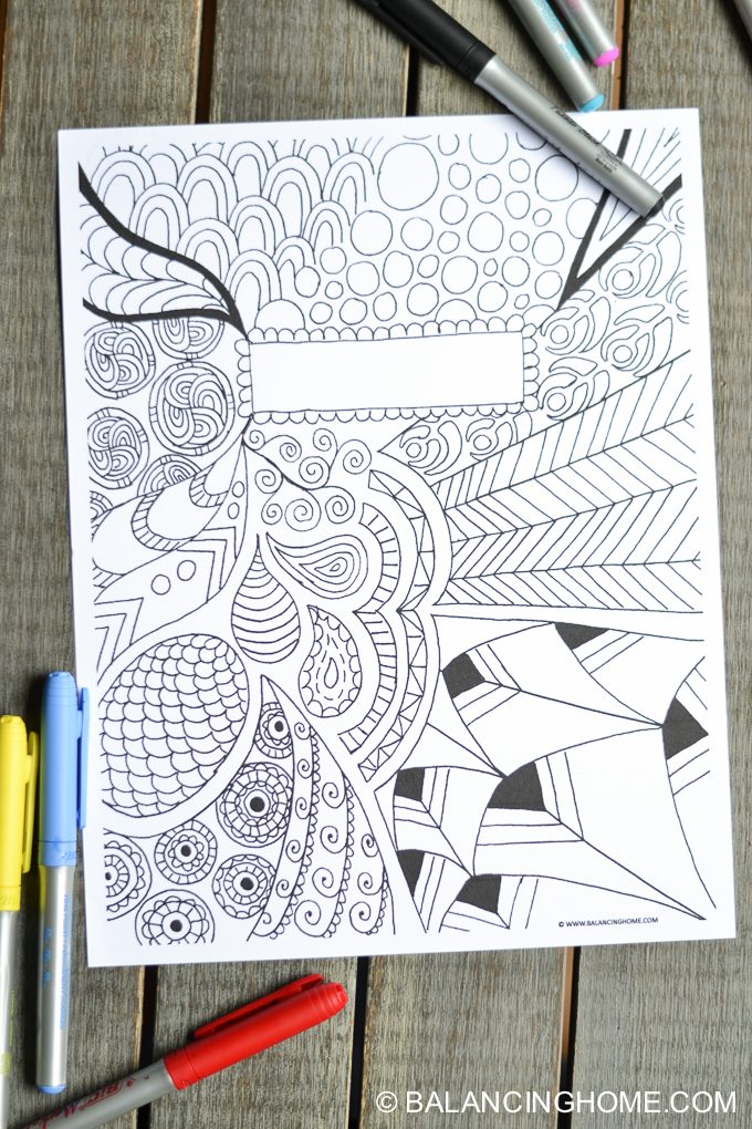 cool binder cover templates - coloring page binder cover printable balancing home