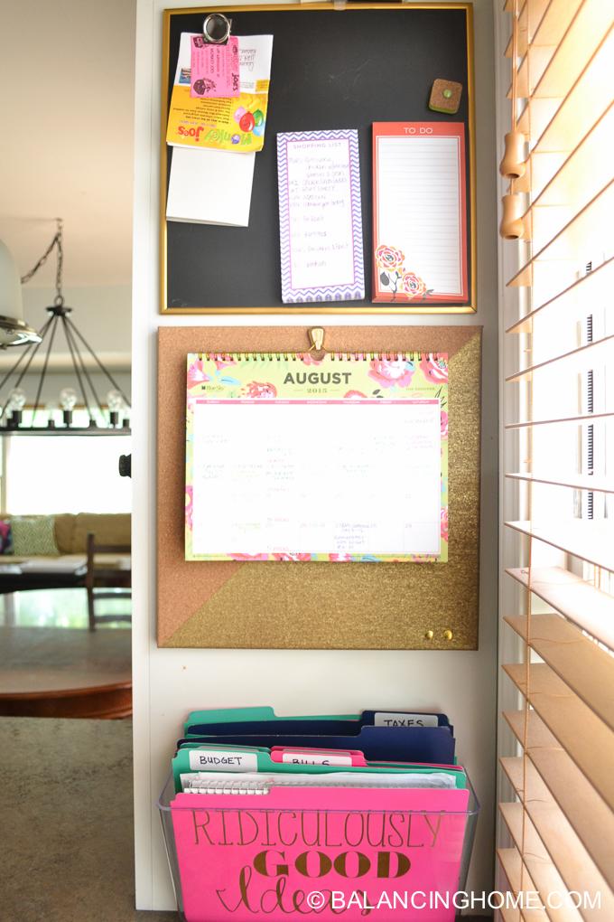 Back to School Organization, Printables & Tips - Balancing ...