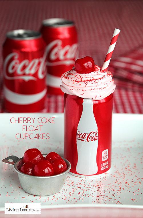 Cherry-Coke-Float-Cupcakes