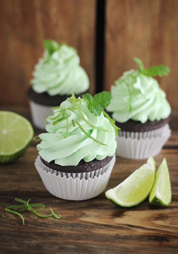 Chocolate+Mojito+Cupcakes