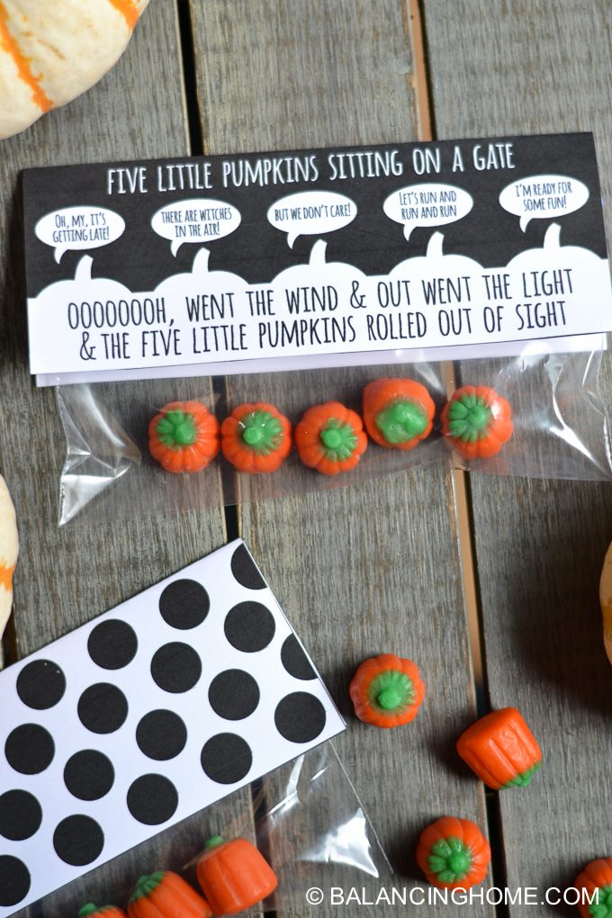 image relating to 5 Little Pumpkins Printable identified as 5 Minor Pumpkins Sitting down upon a Gate Halloween Printable