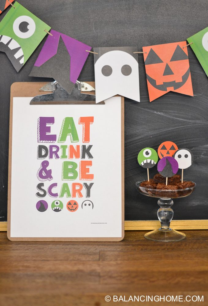 halloween-printable-party-bunting-cupcake-topper-sign-bookmark-18