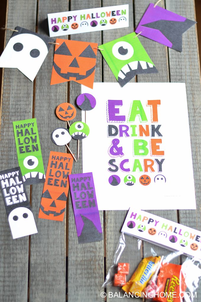 halloween-printable-party-bunting-cupcake-topper-sign-bookmark-6