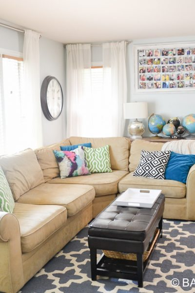 Living Room, Insta, Globes & Home Visits