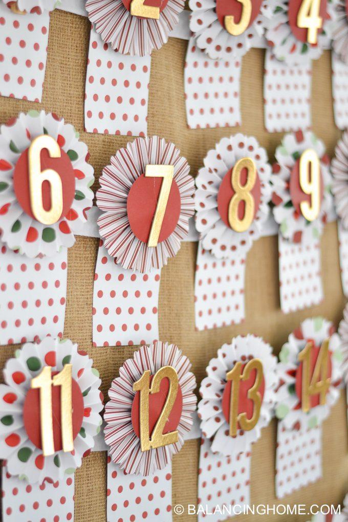 Diy Advent Calendar Kit Balancing Home