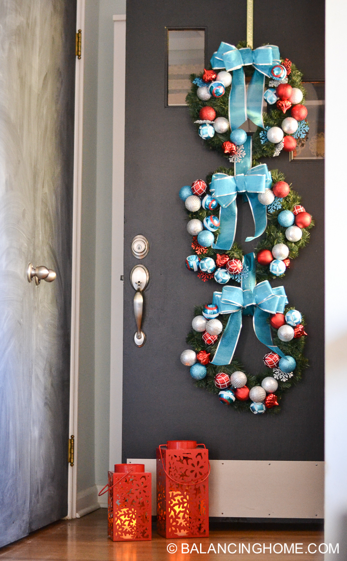 DIY Wreath Trio