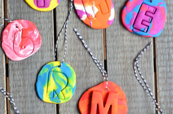 DIY Kid Craft- Clay Christmas Ornaments