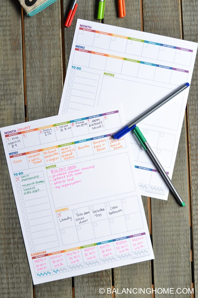 weekly printable planner!! Free weekly planner template will help you with your weekly schedule.