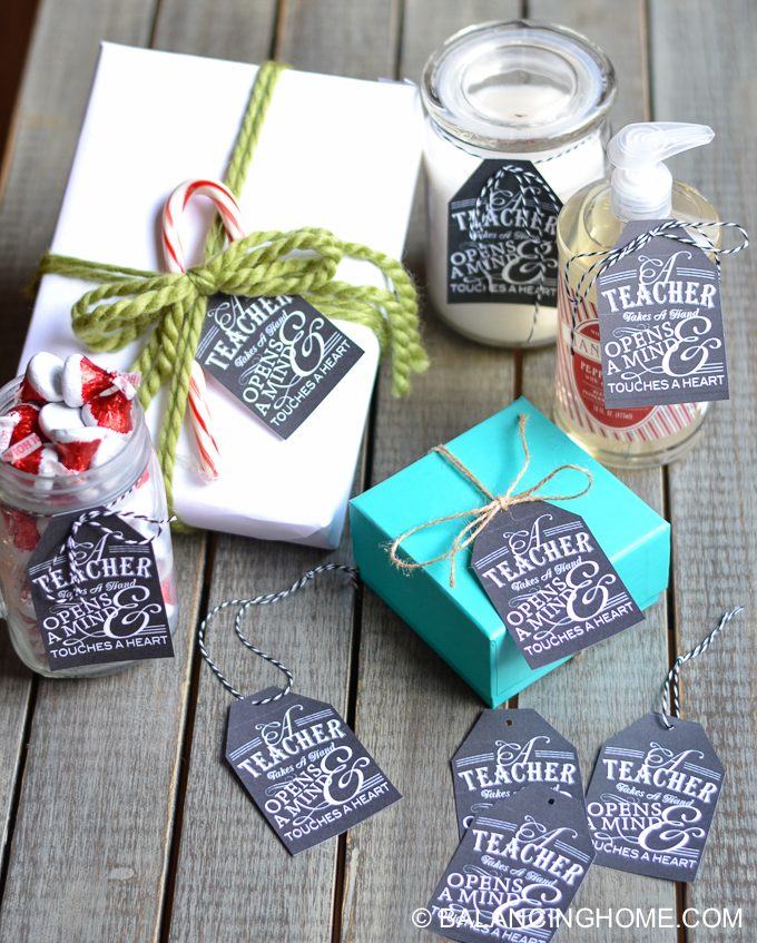 teacher gift tag printable