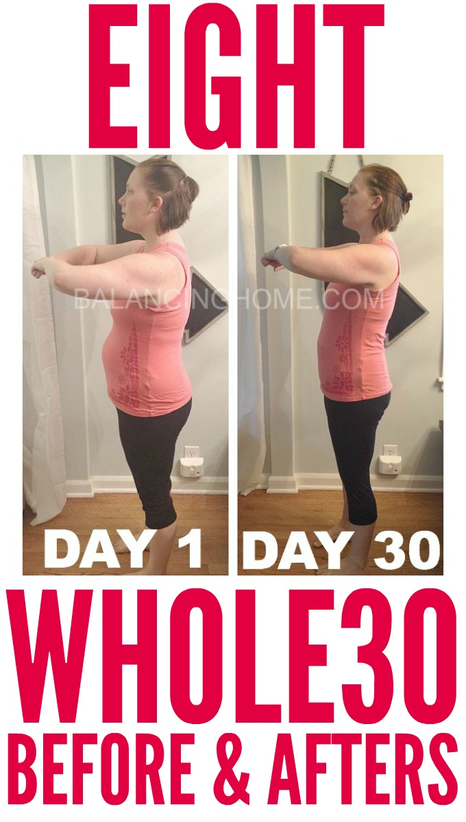 WHOLE30 BEFORE AND AFTER RESULTS AND EXPERIENCES