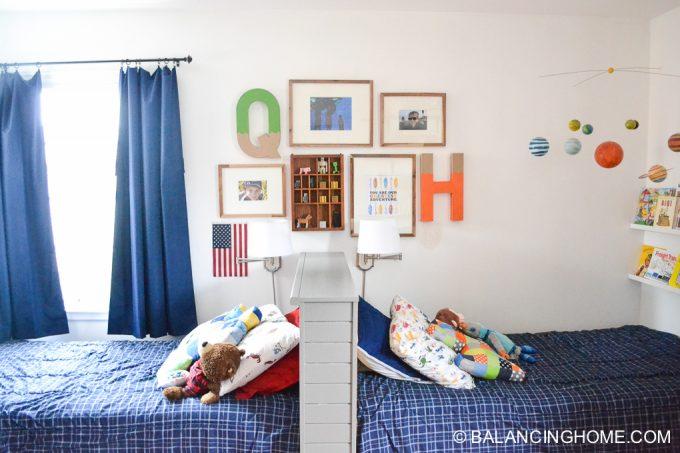 shared boys bedroom 18