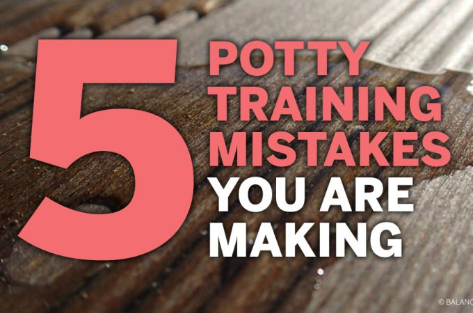 Five Potty Training Mistakes You Are Making