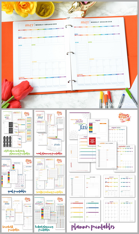 organize printables