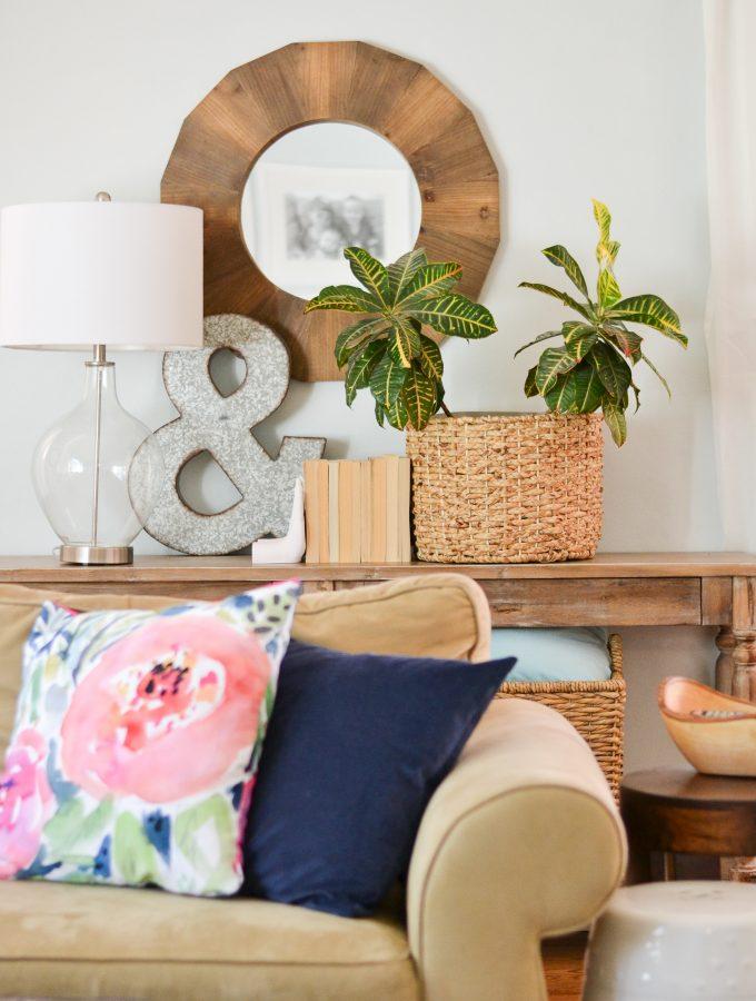Living Room Refresh for $100