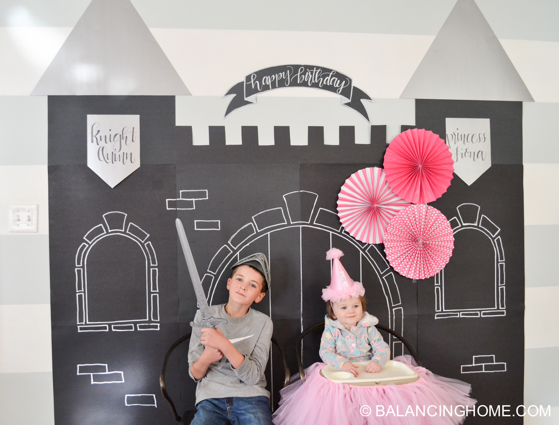 Knights & Princess Birthday Party