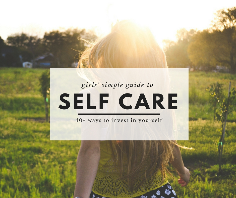 Investing in yourself - self-care