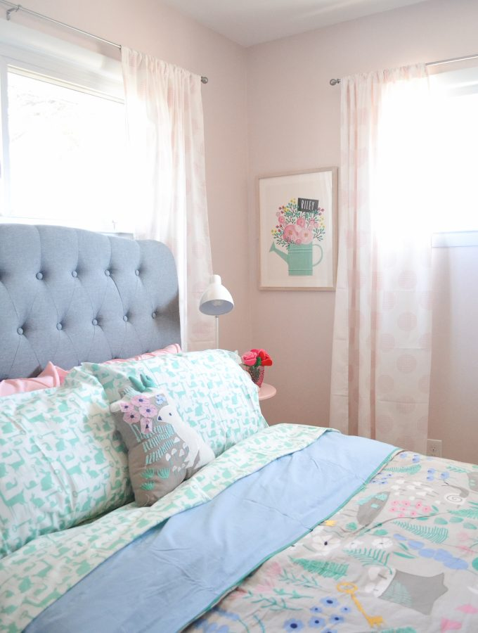 Girl Bedroom Makeover – Woodland Forest Decorating Ideas