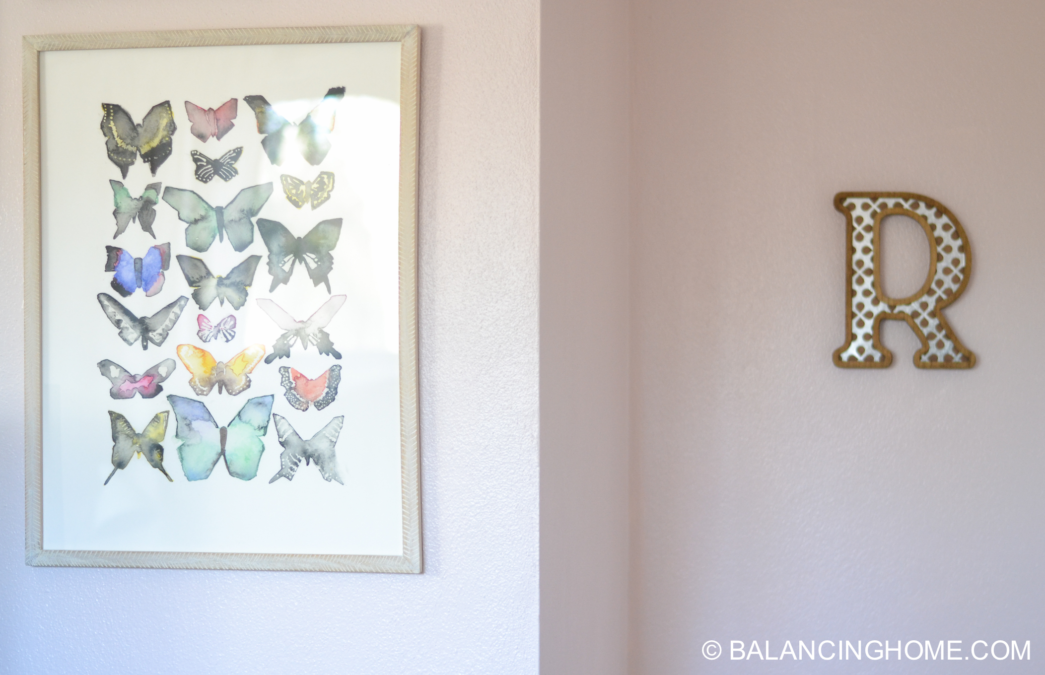Girl Bedroom Makeover - Woodland Forest Decorating Ideas - Balancing ...