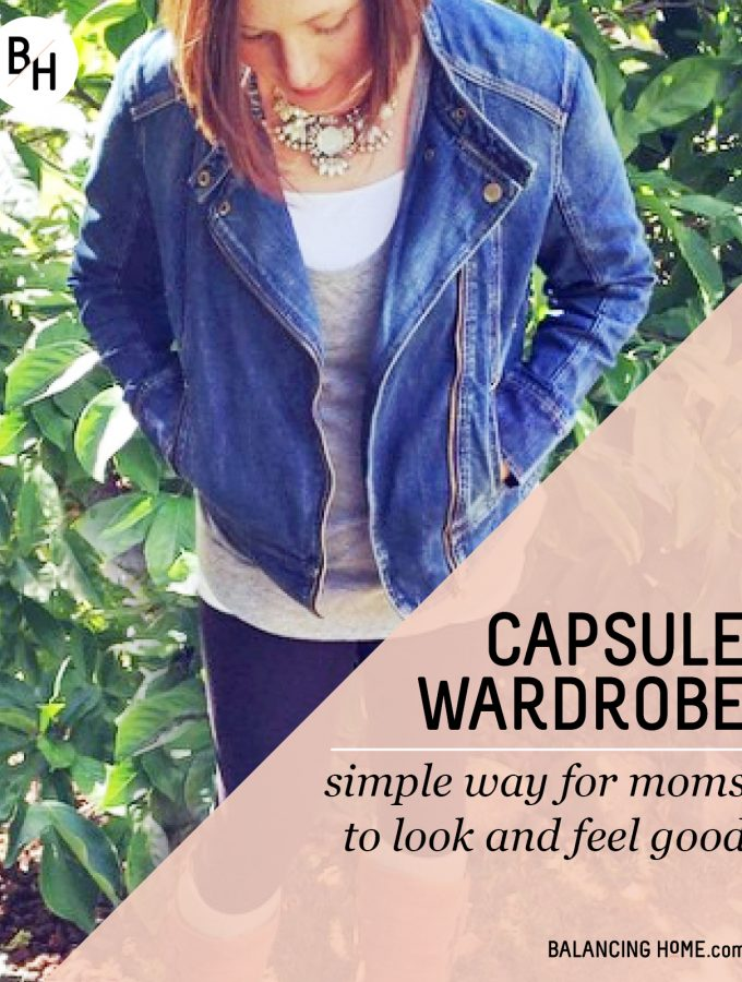 Simple Capsule Wardrobe for Moms: Look Good, Feel Good Beyond the Yoga Pants