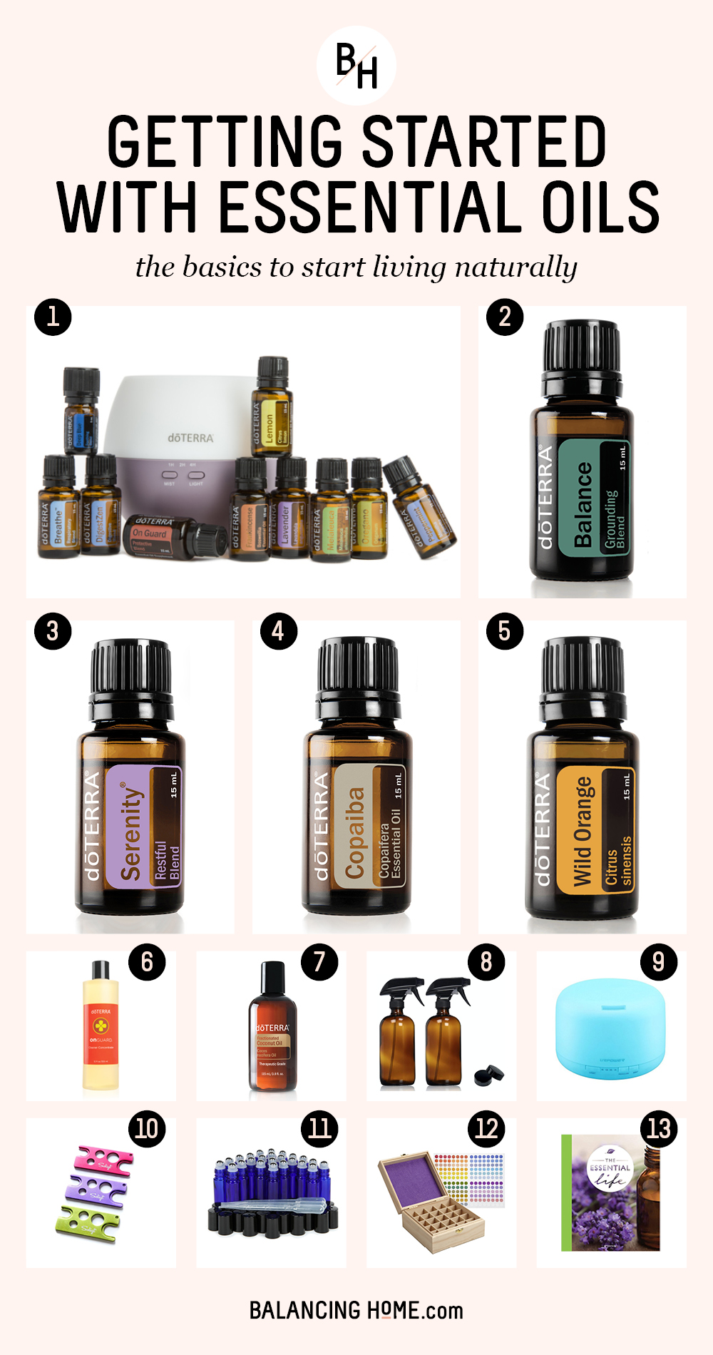Essential oil must haves!!