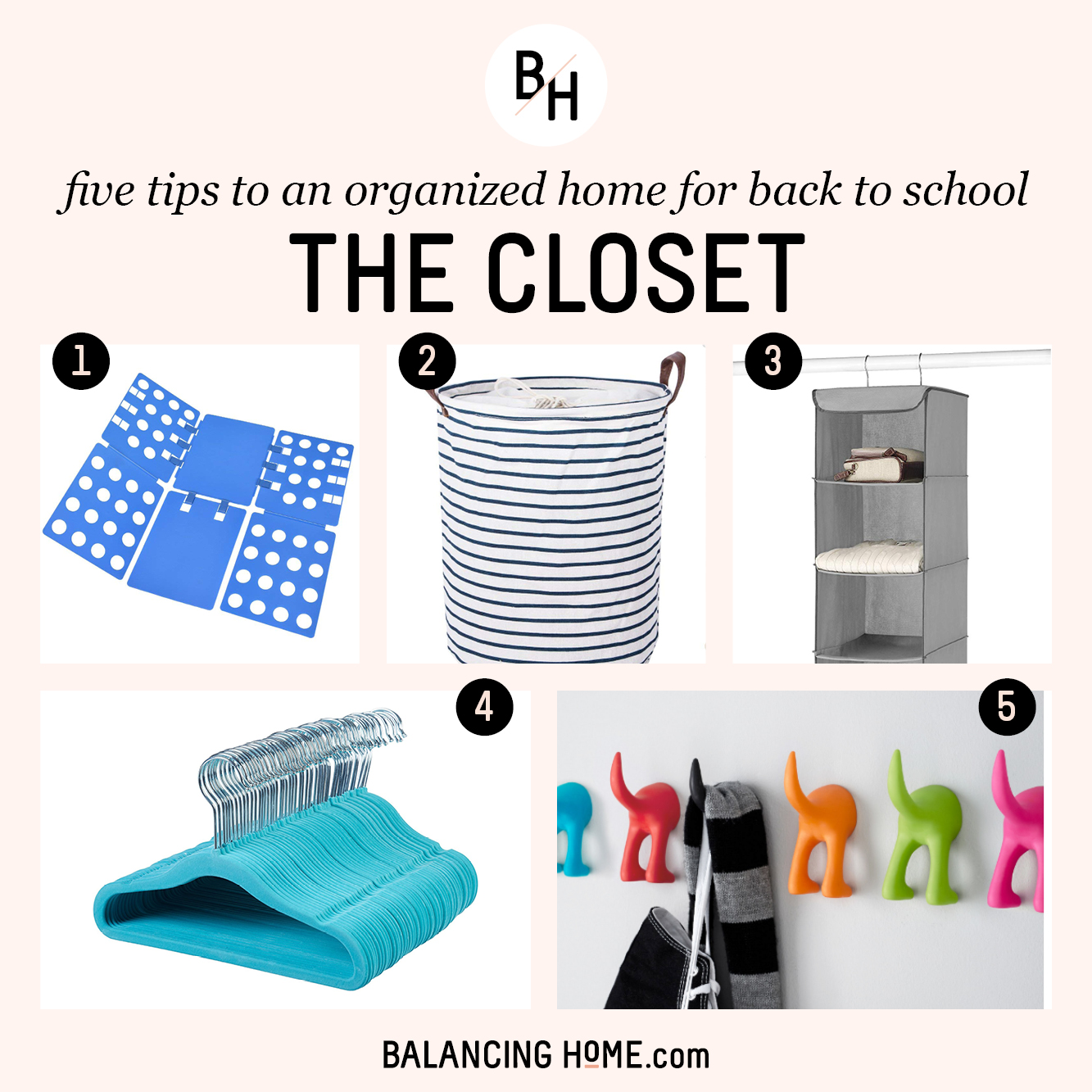 An Organized School Year: Check the Closets, Purge & Organize