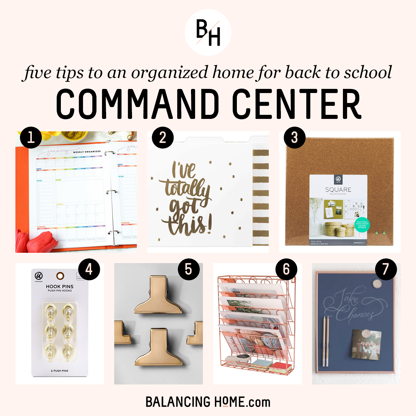 An Organized School Year: Command Center