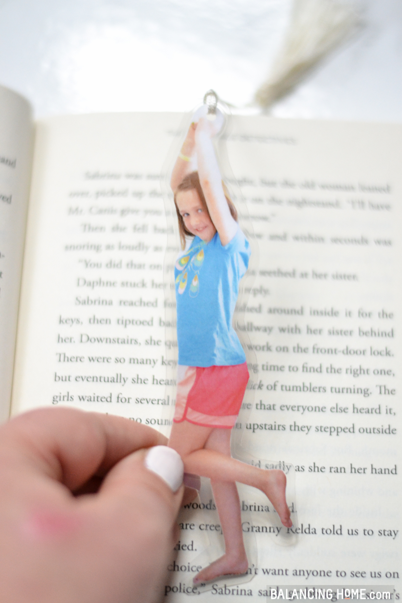 Diy Bookmarks Easy Kid Craft Photo Gift Balancing Home