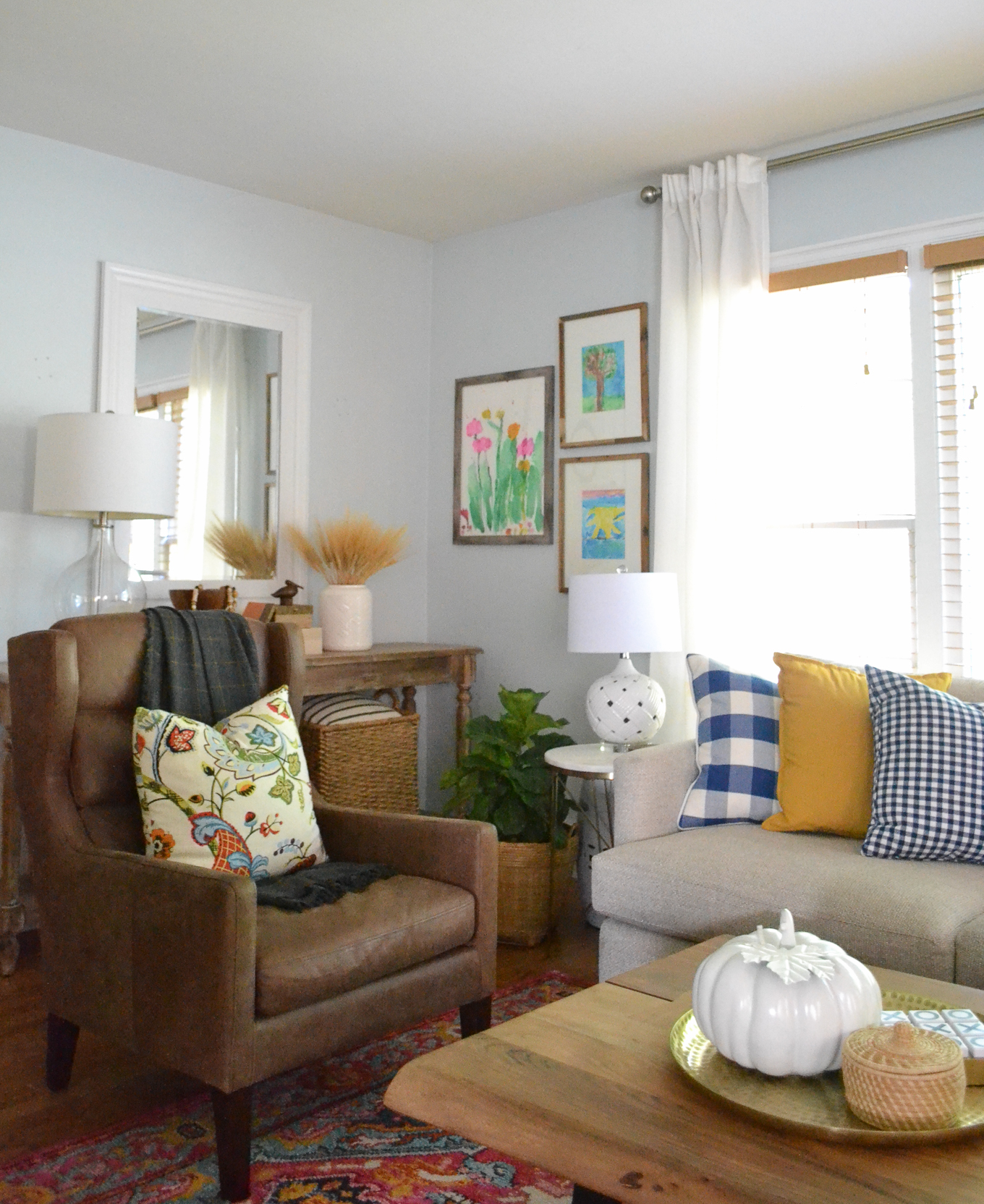 Living Room Theme Ideas: Living Room Decorating Ideas For Fall